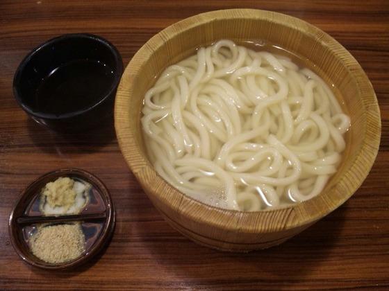 釜揚げうどん/丸亀製麺