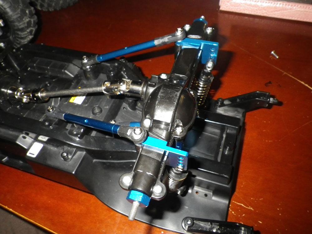 CC-01 パジェロ リアサスペンション改造。 : キャニオ ラジコン ...