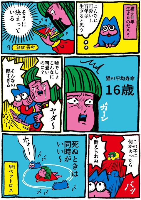 猫9話「原田、寿命を調べる」