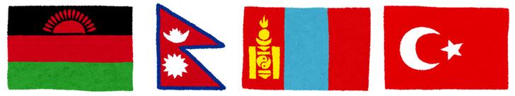 横瀬町 マラウイ ネパール ウイグル トルコ