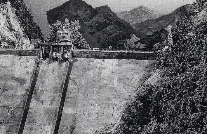 熊谷ダム付き