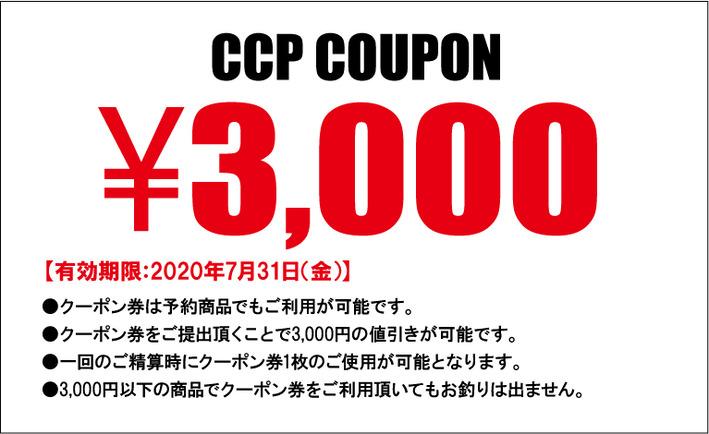 クーポン3000円web