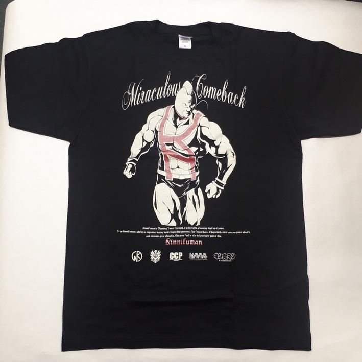 Tシャツ BLK ラメ スグル 全体