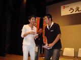 蓮芳さんと佐藤CDS広報部長