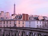 パリの朝焼け2017