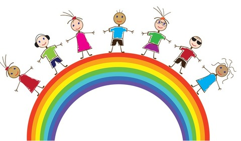 Children over rainbow yay-1625708