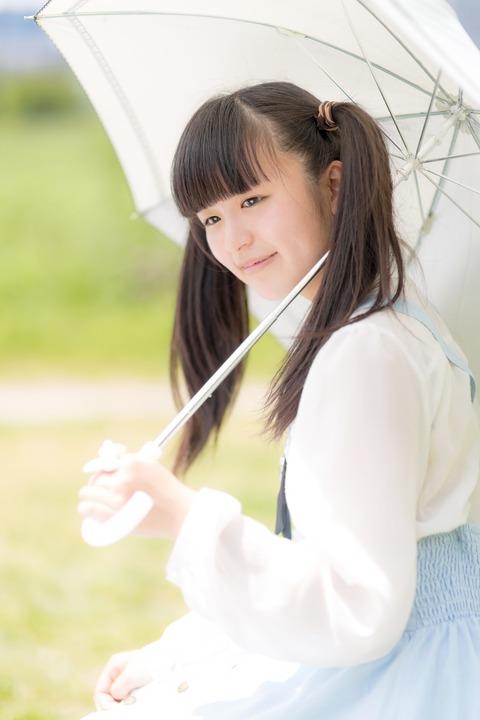 こころ_日傘