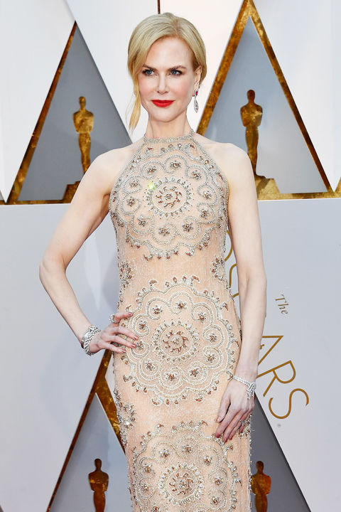 Nicole Kidmann at the Oscars