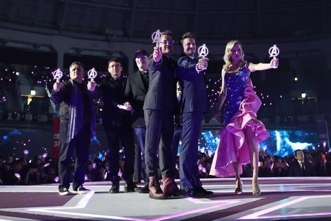 『アベンジャーズ/エンドゲーム』韓国イベント【サブ1】