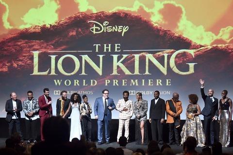 サブ1『ライオン・キング』ワールドプレミア