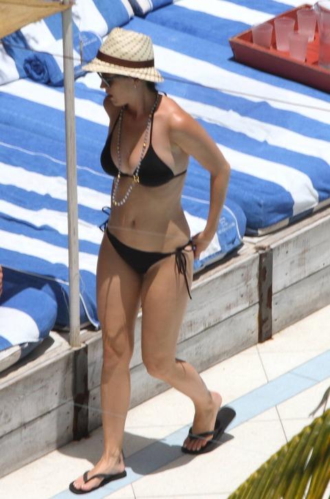 Katy Perry - wearing a bikini at a hotel pool in Miami  04