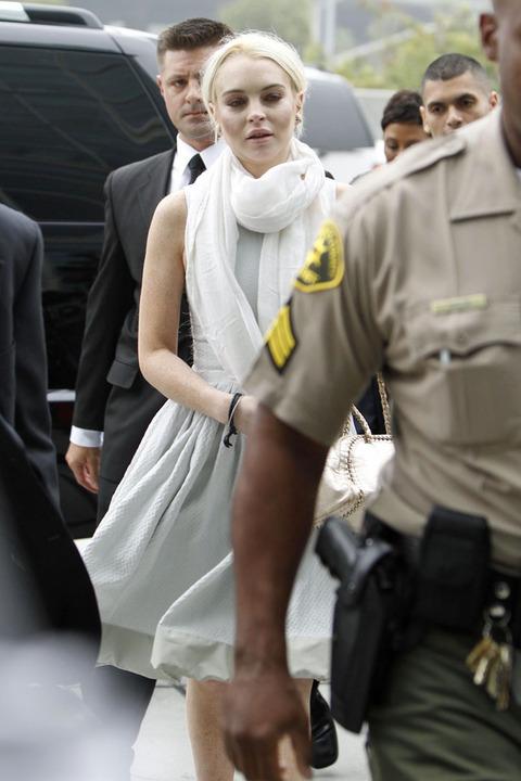 Lindsay Lohan her court appearance