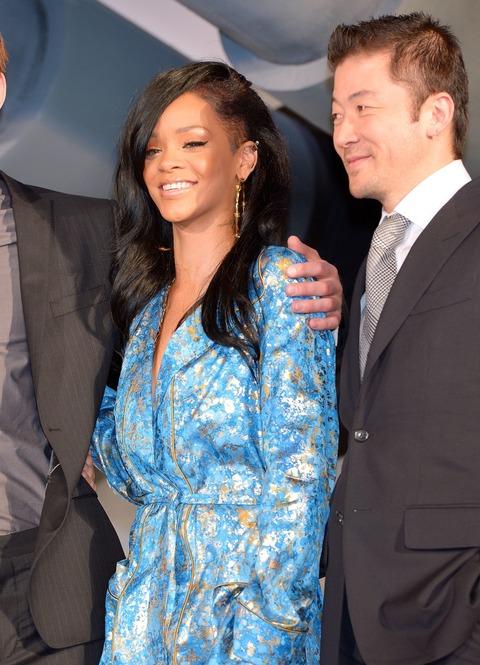 Rihanna - Battleship premiere - Tokyo Japan (2)