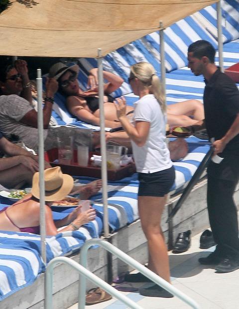 Katy Perry - wearing a bikini at a hotel pool in Miami  27