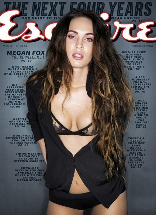 Megan Fox - Esquire magazine February 2013 (1)