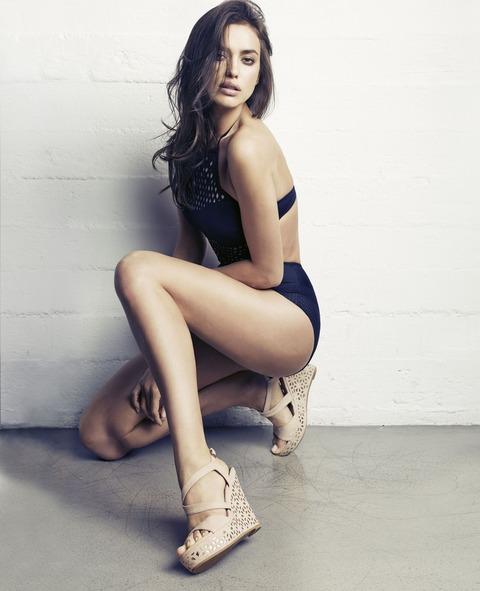 Irina Shayk - SS 2014 ad campaign of XTI 16
