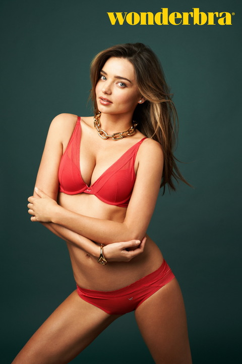 Miranda Kerr - Wonderbra Shoot (1)