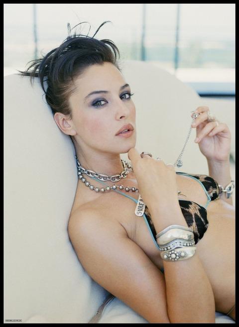Monica Bellucci - Frederique Veysset Photoshoot 1997
