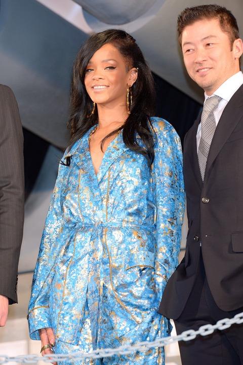 Rihanna - Battleship premiere - Tokyo Japan (3)