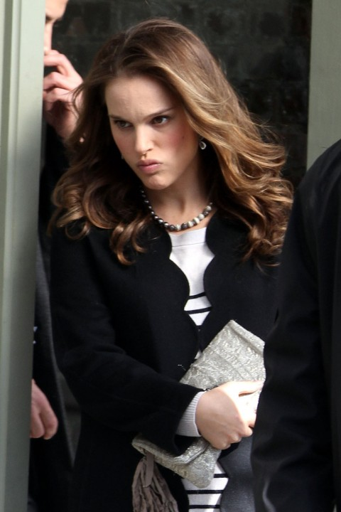Natalie Portman looking real pissed off