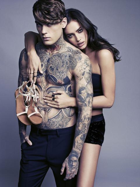 Irina Shayk - SS 2014 ad campaign of XTI 14