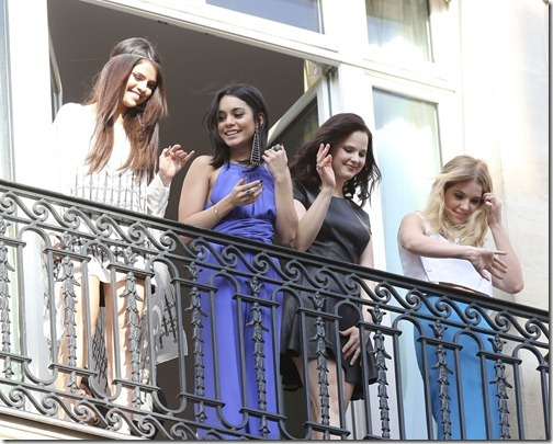 On balcony in Paris (7)