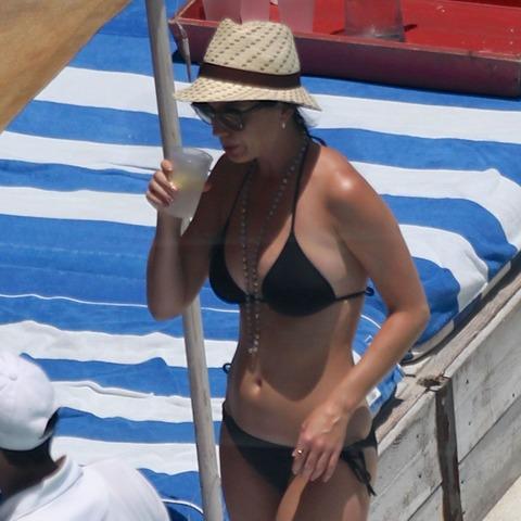 Katy Perry - wearing a bikini at a hotel pool in Miami  05