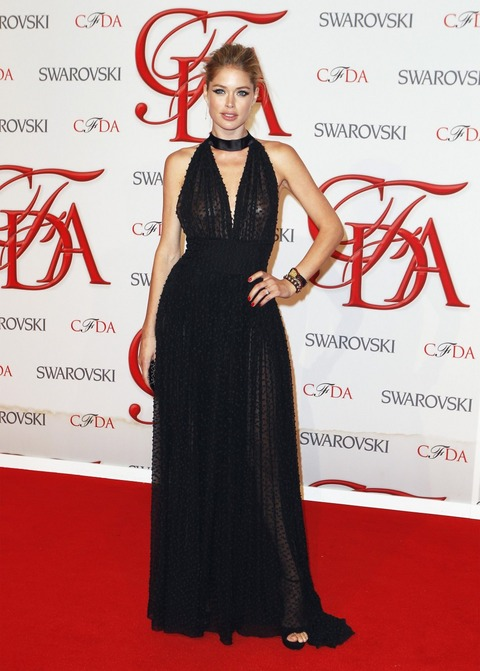 Doutzen Kroes at the 2012 CFDA Fashion Awards (1)
