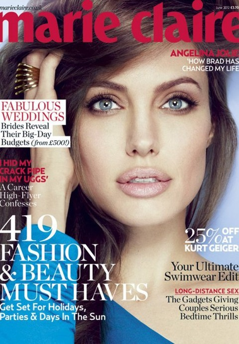 Angelina Jolie - 'Marie Claire' magazine UK - June 2012 (1)