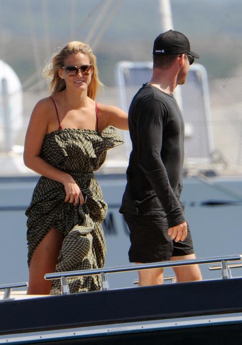 Bar Refaeli - Bikini Candids in Porto Cervo - July 25 (3)