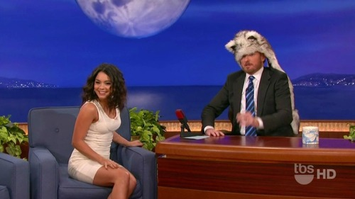 Vanessa Hudgens on Conan 06