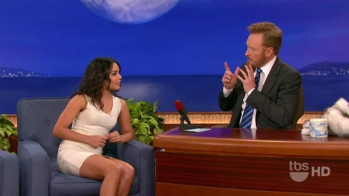 Vanessa Hudgens on Conan 02