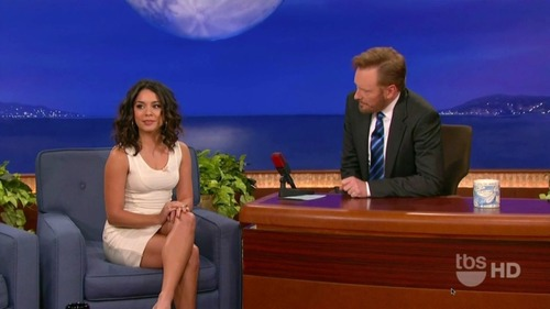 Vanessa Hudgens on Conan 12