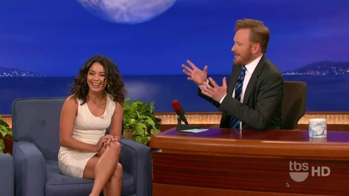 Vanessa Hudgens on Conan 01