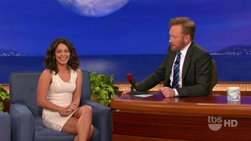 Vanessa Hudgens on Conan 05