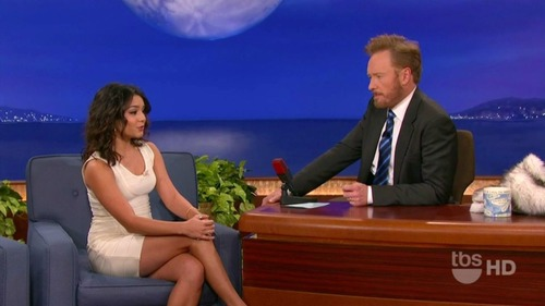 Vanessa Hudgens on Conan 09