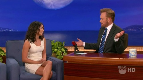 Vanessa Hudgens on Conan 07