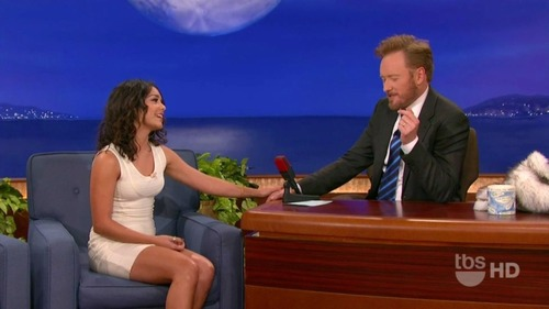Vanessa Hudgens on Conan 04