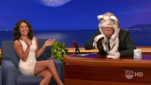 Vanessa Hudgens on Conan 10