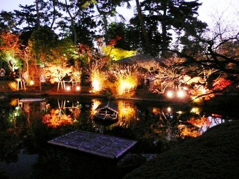 20101204甲子園会館ライトアップ (4)
