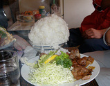 クレインの生姜焼き定食ご飯