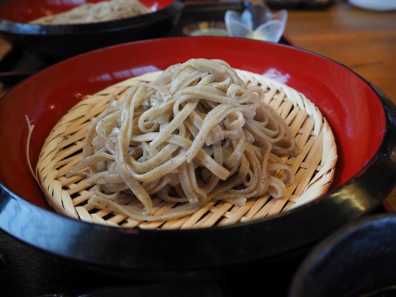 今年度の計画年休はお蕎麦で〆ることができました。 三代目めん坊(栃木県小山市)