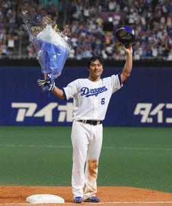 中日平田、なぜか1番打者として開眼してしまう
