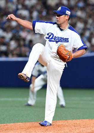 松坂大輔(中日)5勝3敗 防御率2.79 奪三振率8.57 WHIP1.37 被打率.202 K/BB1.53