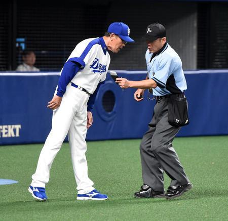 中日森監督、4四球1失点の田島に「他にも投手はいる」