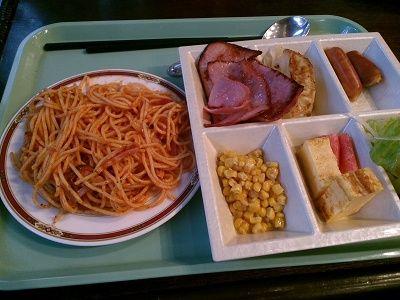ホテルニューイタヤの朝食バイキング