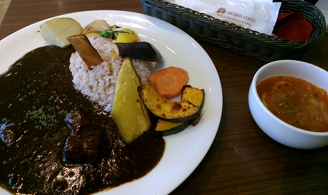 小川珈琲 8主の野菜のビーフカレー