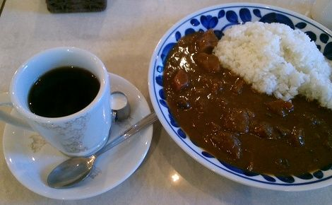 前田珈琲の朝カレー