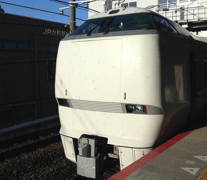 びわこエクスプレス-山科駅