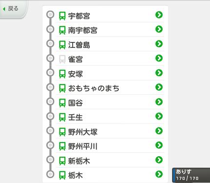 [305ZT]ステメモ東武宇都宮線の旅③